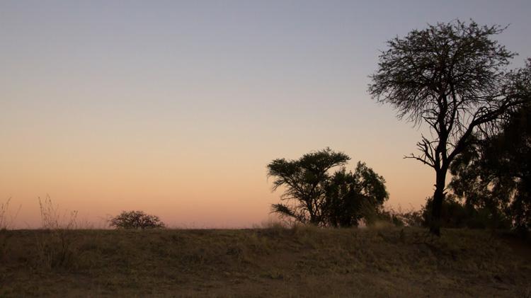 385 zonsondergang