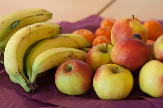 Fruit op de vergadertafel?